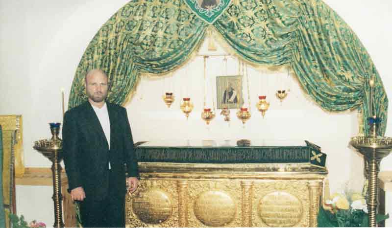 Сергей Матвеев. мощи преп. Иосифа Волоцкого